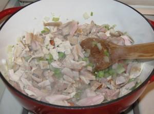 Turkey in the pot
