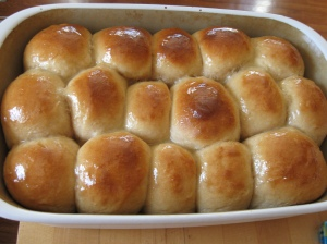 Perfectly done rolls!