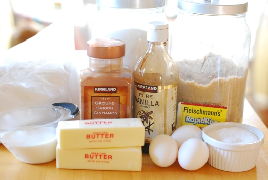 Ingredients for Babka